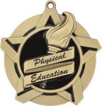 Physical Education - Super Star Medal     All Award Medals