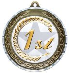 Diamond Cut Medal - 1st Place All Award Medals