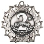 2nd Place - Ten Star Medal All Award Medals