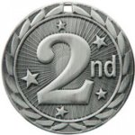 2nd Place - FE Iron Medal All Award Medals