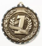 Diamond Cut Medal - 1st Place 2.75 All Award Medals