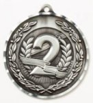 Diamond Cut Medal - 2nd Place All Award Medals