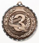 Diamond Cut Medal - 3rd Place All Award Medals