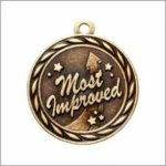 Most Improved - Scholastic Medal Series All Award Medals
