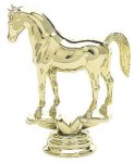 Animal - Arabian Horse on Round Base Animal, Hunting and Fishing Award Trophies