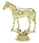 Animal - Thoroughbred Horse on Round Base Animal, Hunting and Fishing Award Trophies