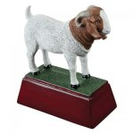 Goat Resin Animal, Hunting and Fishing Award Trophies