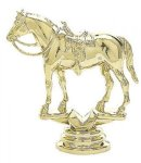 Animal - Western Horse on Marble Base Animal, Hunting and Fishing Award Trophies