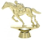 Animal - Race Horse on Marble Base Animal, Hunting and Fishing Award Trophies