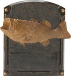 Bass Fishing - Legends of Fame Resin Animal, Hunting and Fishing Award Trophies