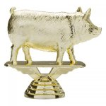 Animal - Hog/Pig on Marble Base  Animals, Fish and Birds