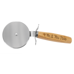 Bamboo Pizza Cutter Bamboo and Cork Eco-Friendly Items