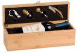 Bamboo Wine Presentation Box Bamboo and Cork Eco-Friendly Items