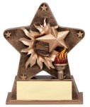 Victory - Starburst Resin Series Baseball and T-Ball Award Trophies