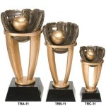 Baseball Tower Resin Baseball and T-Ball Award Trophies
