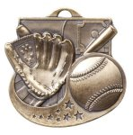 Baseball - Star Blast Series II Medal Baseball and T-Ball Medals