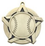 Baseball - Super Star Medal Baseball and T-Ball Medals