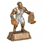 Monster Basketball Resin Trophy Basketball Award Trophies
