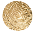 Basketball - Chenille Pin Basketball Medals