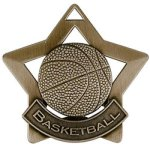 Basketball - Star Medallion Basketball Medals