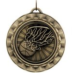 Basketball - Spinner Medallion Basketball Medals