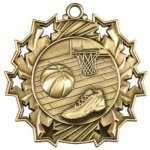 Basketball - Ten Star Medal Basketball Medals