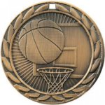 Basketball - FE Iron Medal Basketball Medals