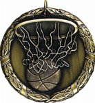 Basketball - XR Medallion Basketball Medals