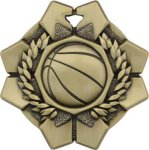 Basketball - Imperial Medal Series Basketball Medals