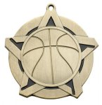 Basketball - Super Star Medal Basketball Medals