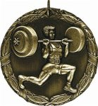 Weightlifting - XR Medallion Body Building and Weightlifting Award Trohpies