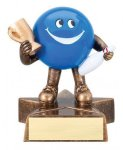 Bowling - Lil' Buddy Resin Award Bowling Award Trophies