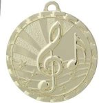 Bright Medal - Music BriteLazer Medallion