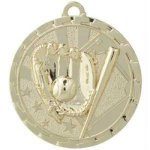 Bright Medal - Baseball BriteLazer Medallion