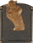 Golf (Male) - Legends of Fame Resin Bronze Golf Resin Awards