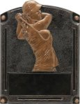 Golf (Female) - Legends of Fame Resin Bronze Golf Resin Awards