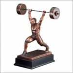 Weightlifting (Male) - Weightlifter Bronze Resin Awards