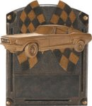 Car Show - Muscle Car  Legends of Fame Resin Car and Car Show Resin Awards