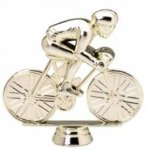 Racing Bicycle on Round Base Cars, Cycles and Racing Award Trophies