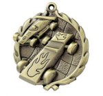 Wreath Medal - Pinewood Derby Cars, Cycles and Racing Award Trophies