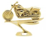 Softail Motorcycle on Round Base Cars, Cycles and Racing Award Trophies