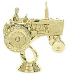 Tractor on Round Base Cars, Cycles and Racing Award Trophies