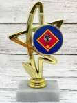 Starlight 2 Pinewood Insert Holder Cars, Cycles and Racing Award Trophies