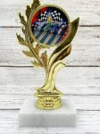 Laurel Leaf  2 Pinewood Insert Holder Cars, Cycles and Racing Award Trophies