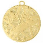 Superstar 2 Medal - Pinewood Derby Cars, Cycles and Racing Award Trophies