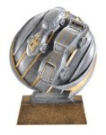 Pinewood Derby - Motion Xtreme Resin Trophy Cars, Cycles and Racing Award Trophies