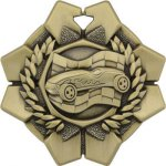 Pinewood Derby - Imperial Medal Series Cars, Cycles and Racing Medals