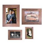 Walnut Picture Frame Certificate Plaques