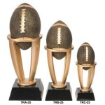 Football Tower Resin Champion Trophies over $25