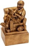 Fantasy Football Team Owner in Chair Champion Trophies under $25
